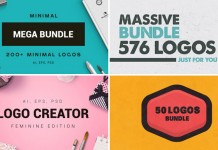 Mega bundle of 920 logos.
