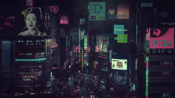 Neon Tokyo at night captured by Liam Wong.