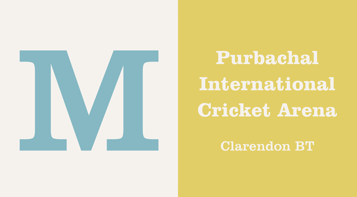 Clarendon Bold Condensed BT - Bold