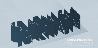 Sans Beam font family by Stawix Ruecha.