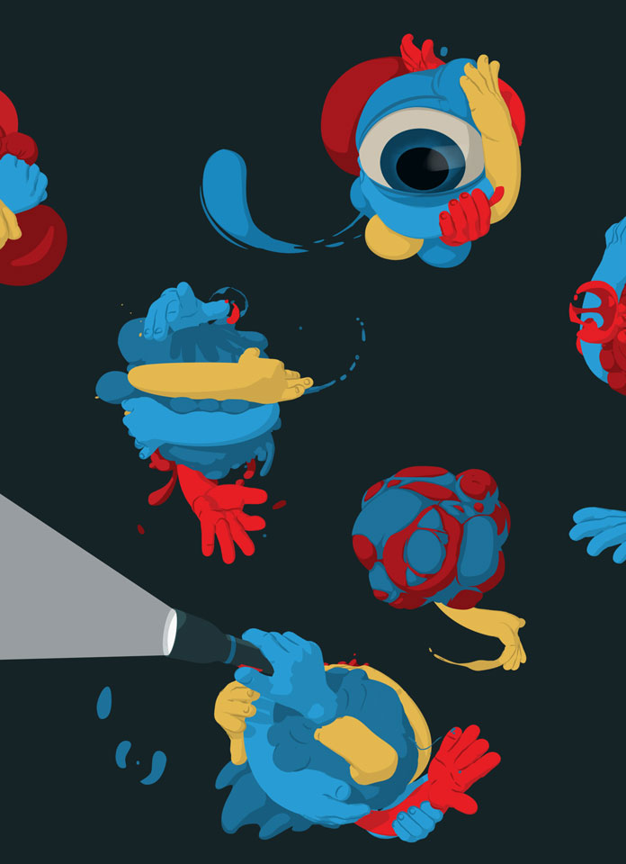 ADCN Awards Ceremony – animations by PlusOne, an Amsterdam based design and animation studio.