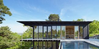 Aspvik, a family retreat by architect Andreas Martin-Löf in the archipelago near Stockholm.