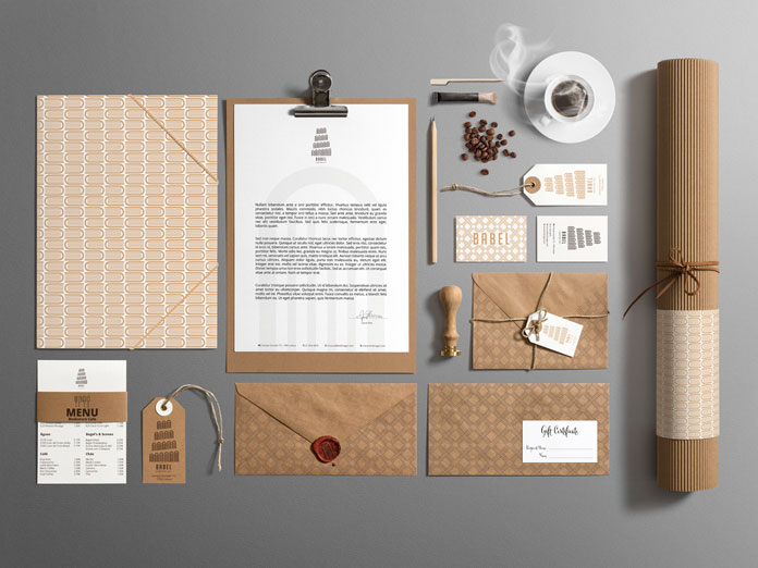 Babel BookStore Cafe branding by Lisbon, Portugal based graphic designer, Bruno do Nascimento.