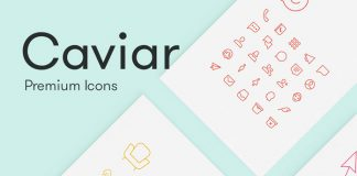 Caviar - Premium mobile and web icons as simple line graphics.