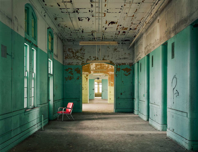 Creepy insights into old abandoned psychiatric hospitals.