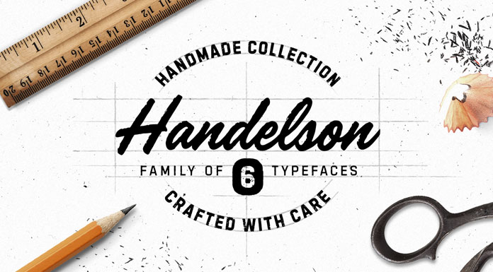 Handelson font collection by Mika Melvas.