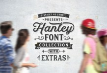 Hanley fonts collection.
