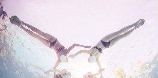 The grace and aesthetics of synchronized swimming captured by Mallory Morrison.
