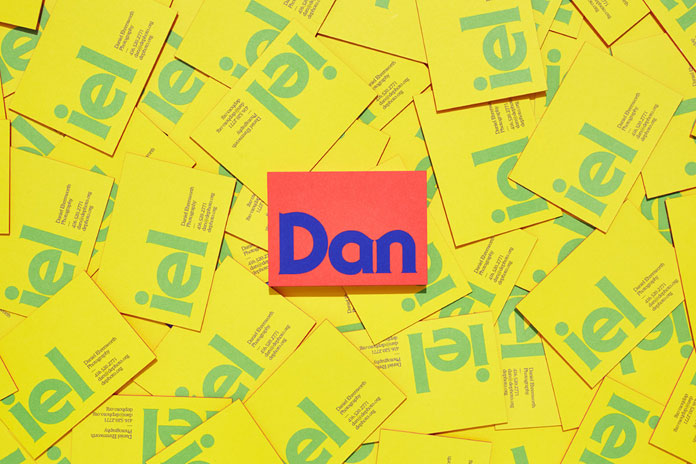 Bold identity design reminiscent of the 1970s.