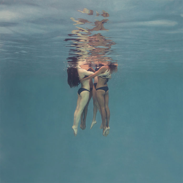 Mallory Morrison, a Los Angeles, CA based photographer has captured the beauty of synchronized swimming.