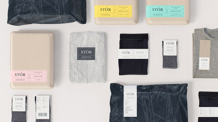 Some examples of the branding and packaging design.