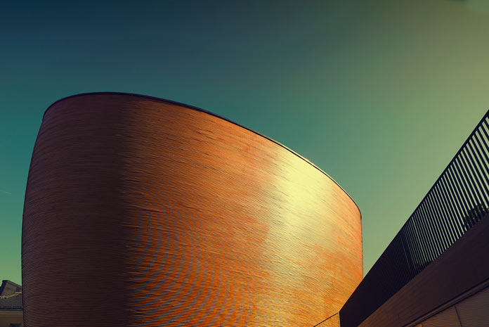 Architecture photography in Helsinki.