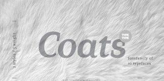 TT Coats font family.
