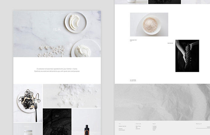 A uniform brand identity for print and web.