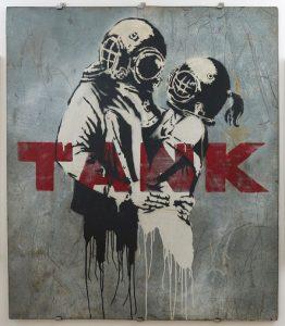 Banksy – Think Tank.