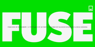 Fuse font family from Without Foundry.
