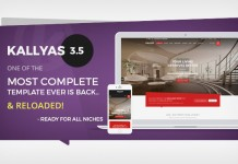 KALLYAS website template