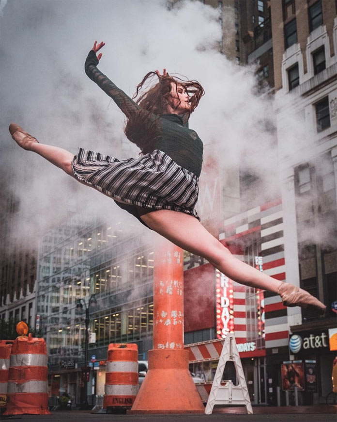 Silken Kelly's dance performance in New York City.