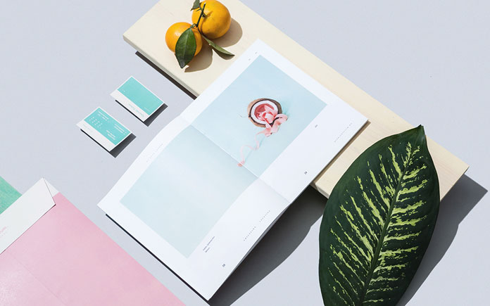 """Querido Tulum"" (Dear Tulum), branding by studio Futura for a residential development."