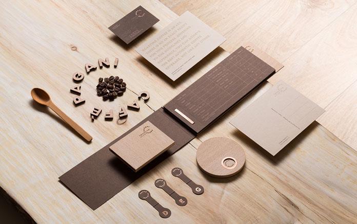 Caffè Pagani branding by design studio Eskimo.
