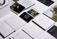 Zaha Hadid – 520 W 28th – printed collateral by Mother Design.