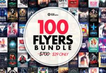 100 Flyer Templates for Download!