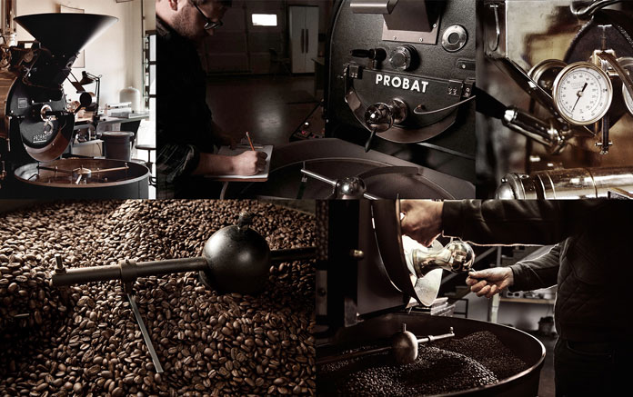 A coffee roasting company in Lugano, Switzerland which is managed by the second generation of the family.