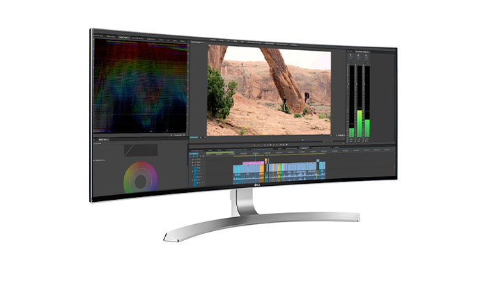 LG UltraWide monitors are ideal for professional creatives.