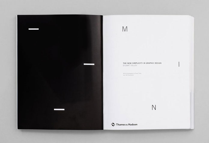 The New Simplicity in Graphic Design, a book by Stuart Tolley.