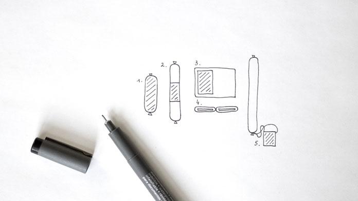 First conceptual doodles.