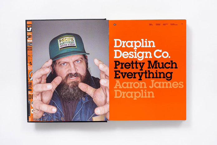 A book by Aaron James Draplin – founder of Draplin Design Co.