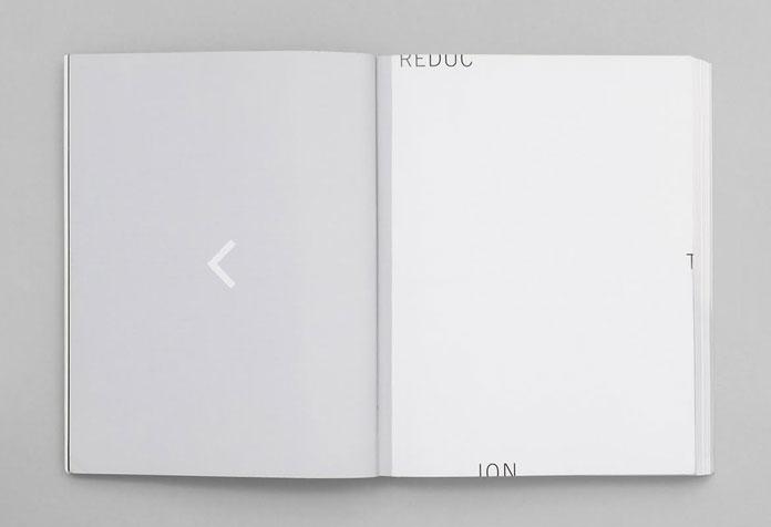 Minimalist layout.
