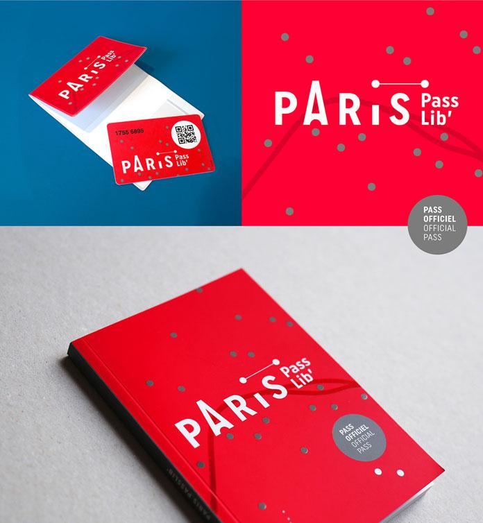 Printed application: Paris Passlib.