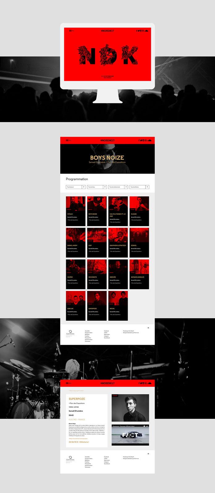 Nördik Impakt website.