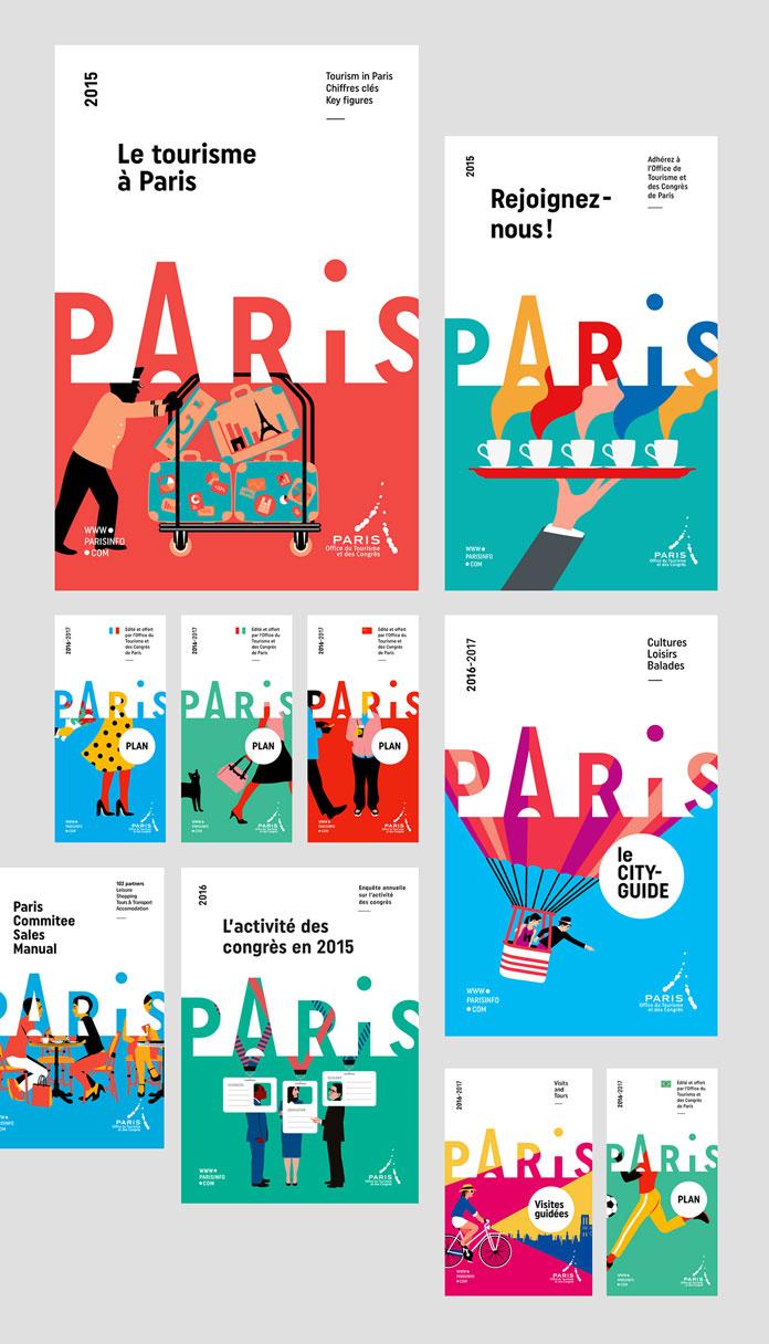 Design based on simple and colorful illustrations by Séverin Millet.