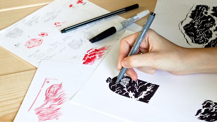 Illustration development.