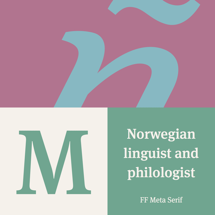 A serif typeface created in 2007.