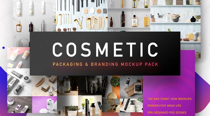 Cosmetic Packaging Mockups for Branding