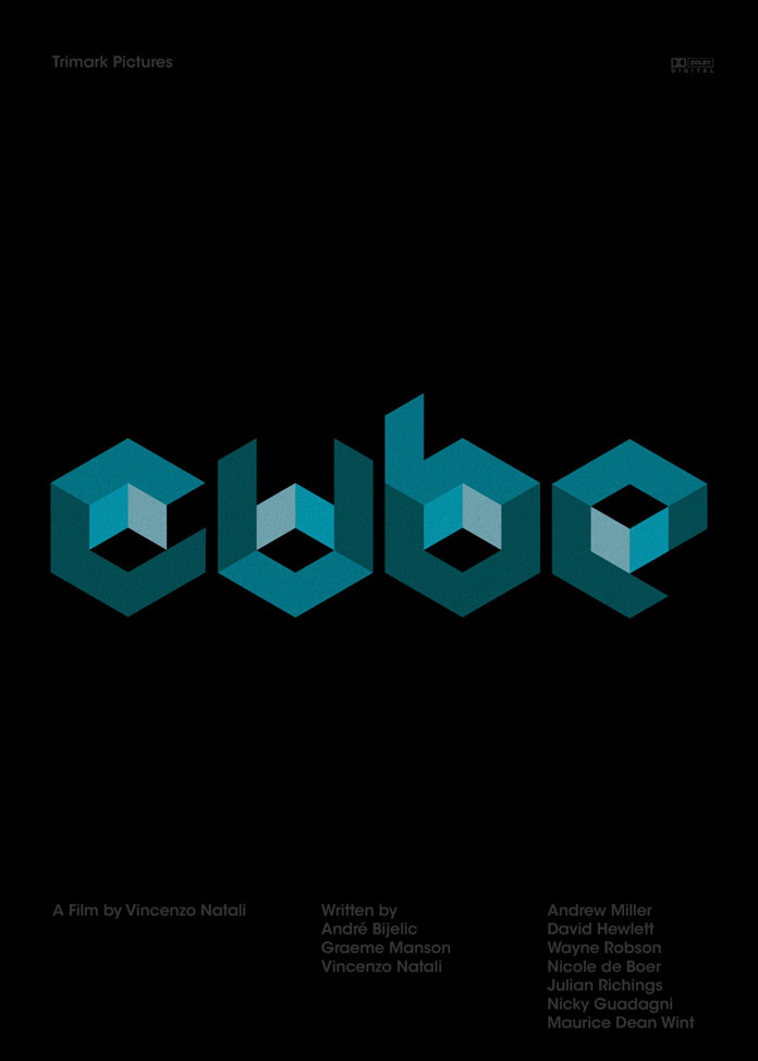 Cube, a film by Vincenzo Natali.