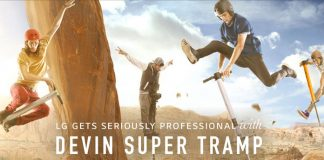 LG gets seriously professional with Devin Super Tramp.