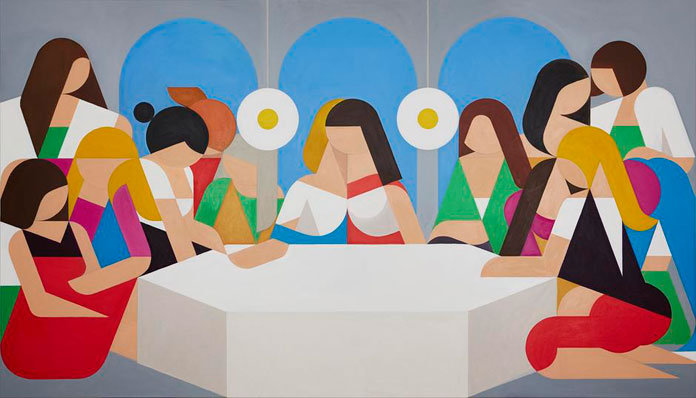Leonhard Hurzlmeier, Der Tisch der Weißen Frauen, (The Table of White Women).