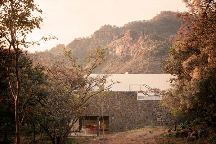 Located in Tepoztlán, Mexico.
