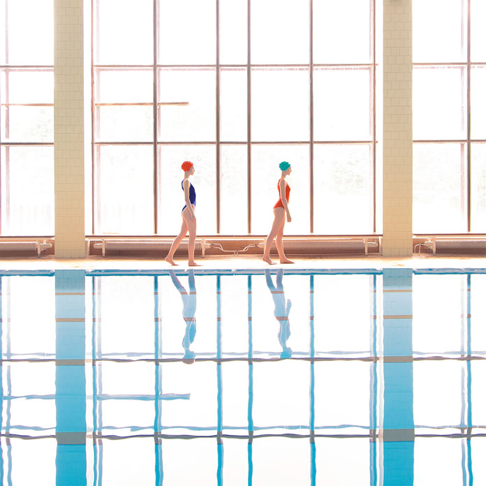 Swimming pool series by Maria Svarbova.