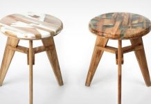 Zero per stool by Hattern.
