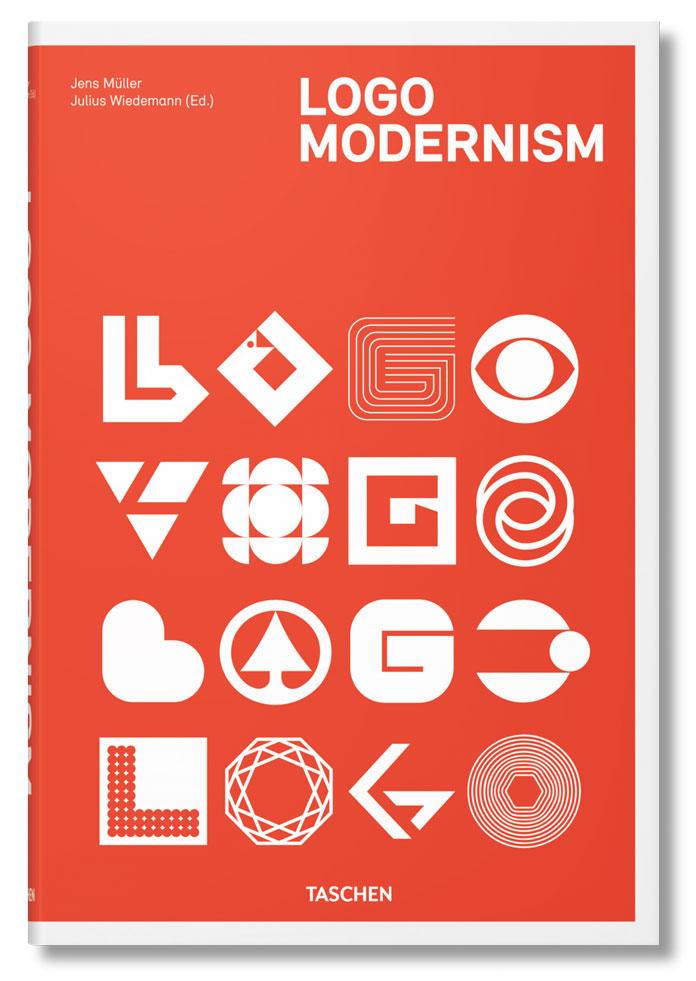 Logo Modernism – graphic design book by Jens Müller.