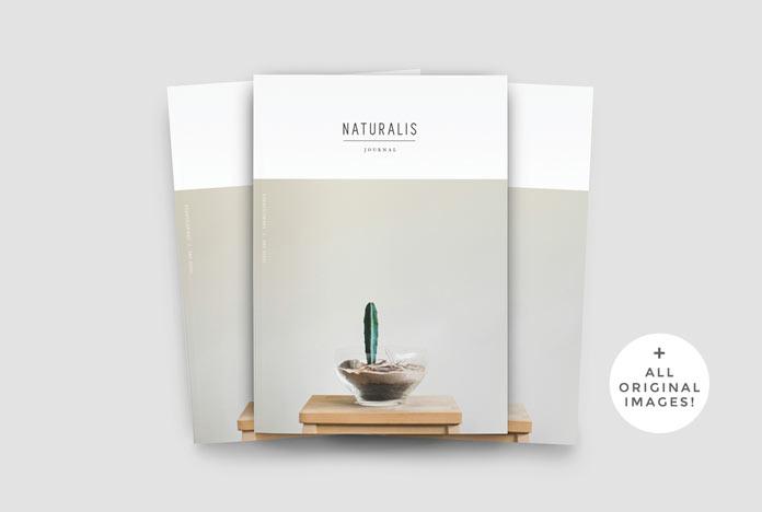 NATURALIS – lookbook and magazine template.