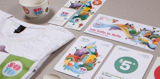 SOYO Frozen Yoghurt – illustration and communication design by Brett King.