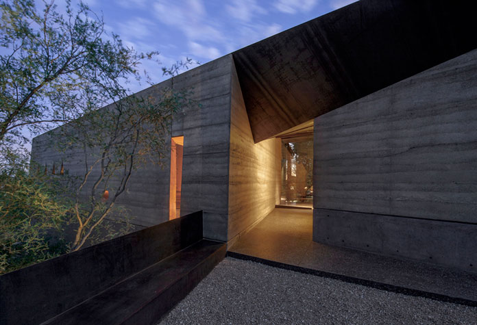 The Desert Courtyard House by Wendell Burnette Architects.
