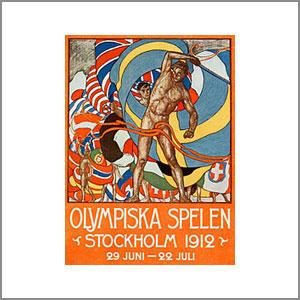 1912 Summer Olympics Stockholm, Sweden
