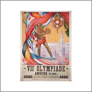 1920 Summer Olympics Antwerp, Belgium